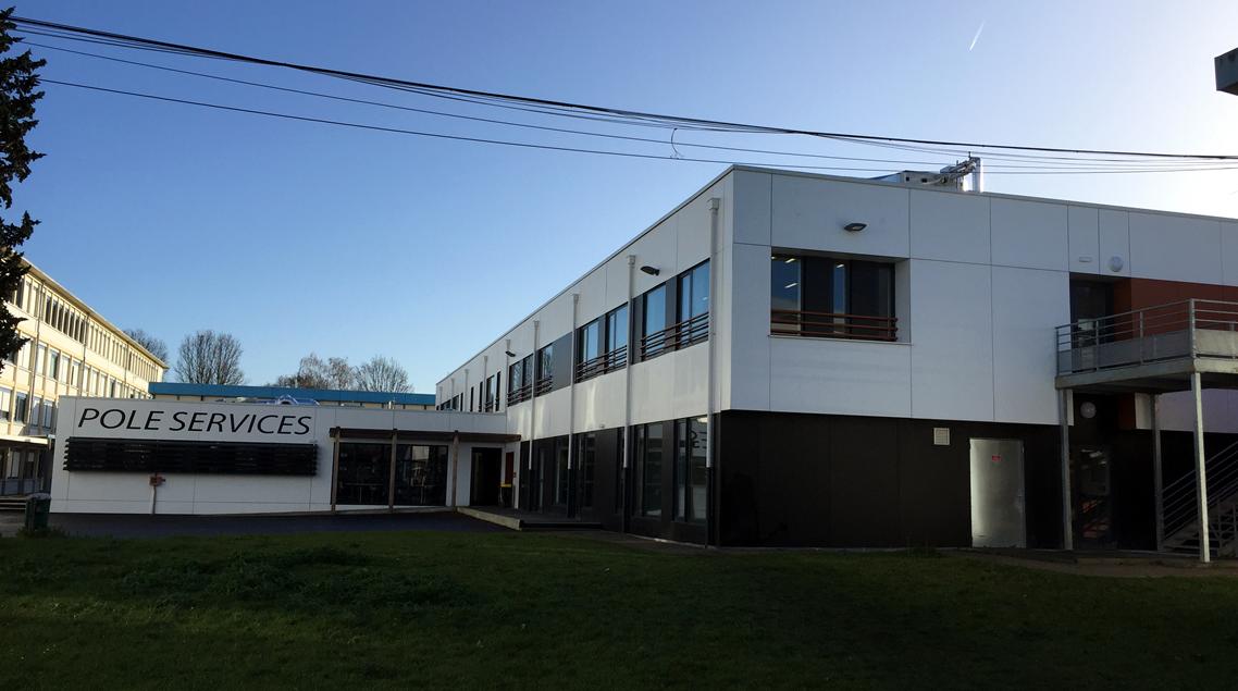 Pôle Services Lycée Béhal à LENS